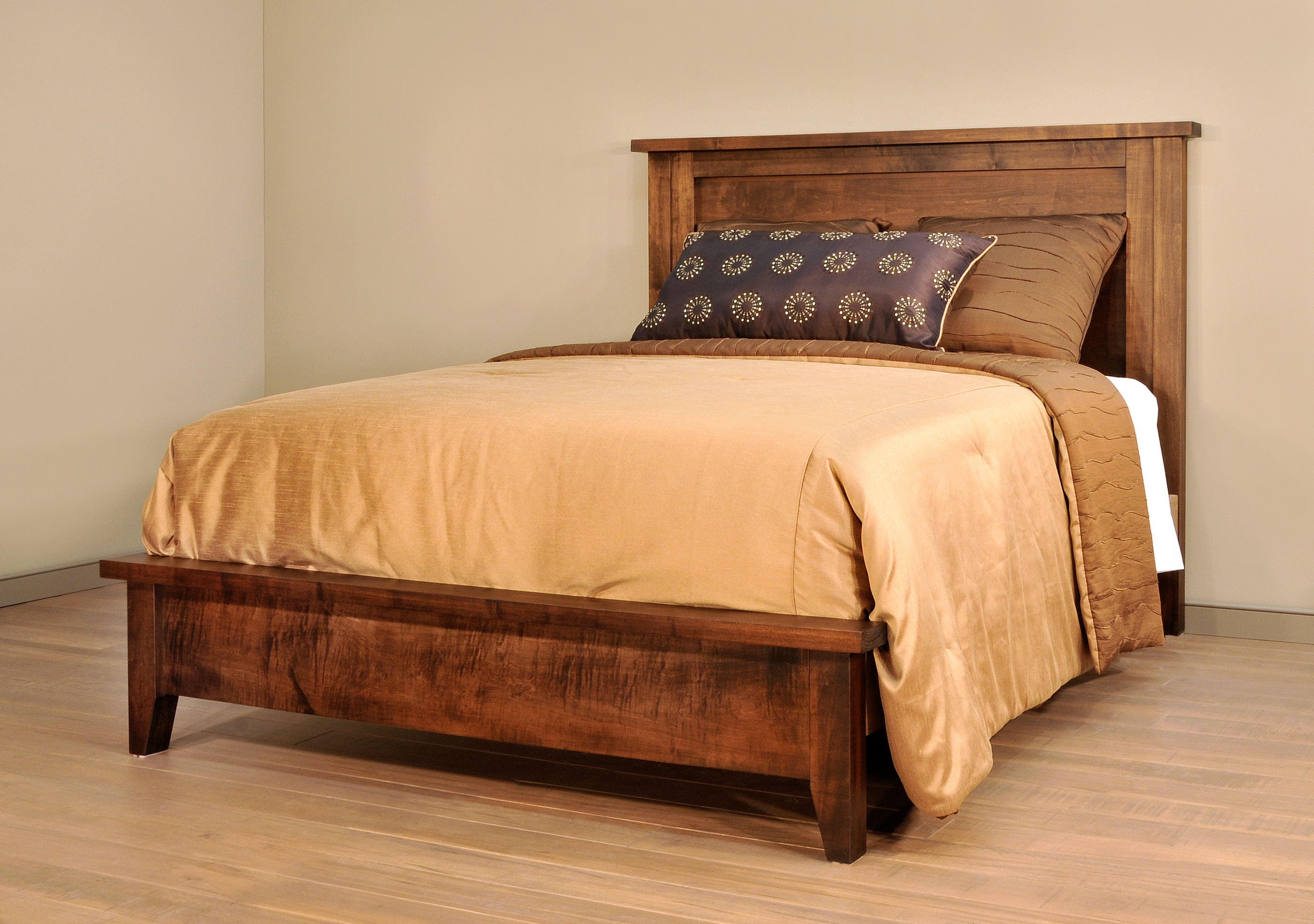 farmhouse bed collection amish oak warehouse
