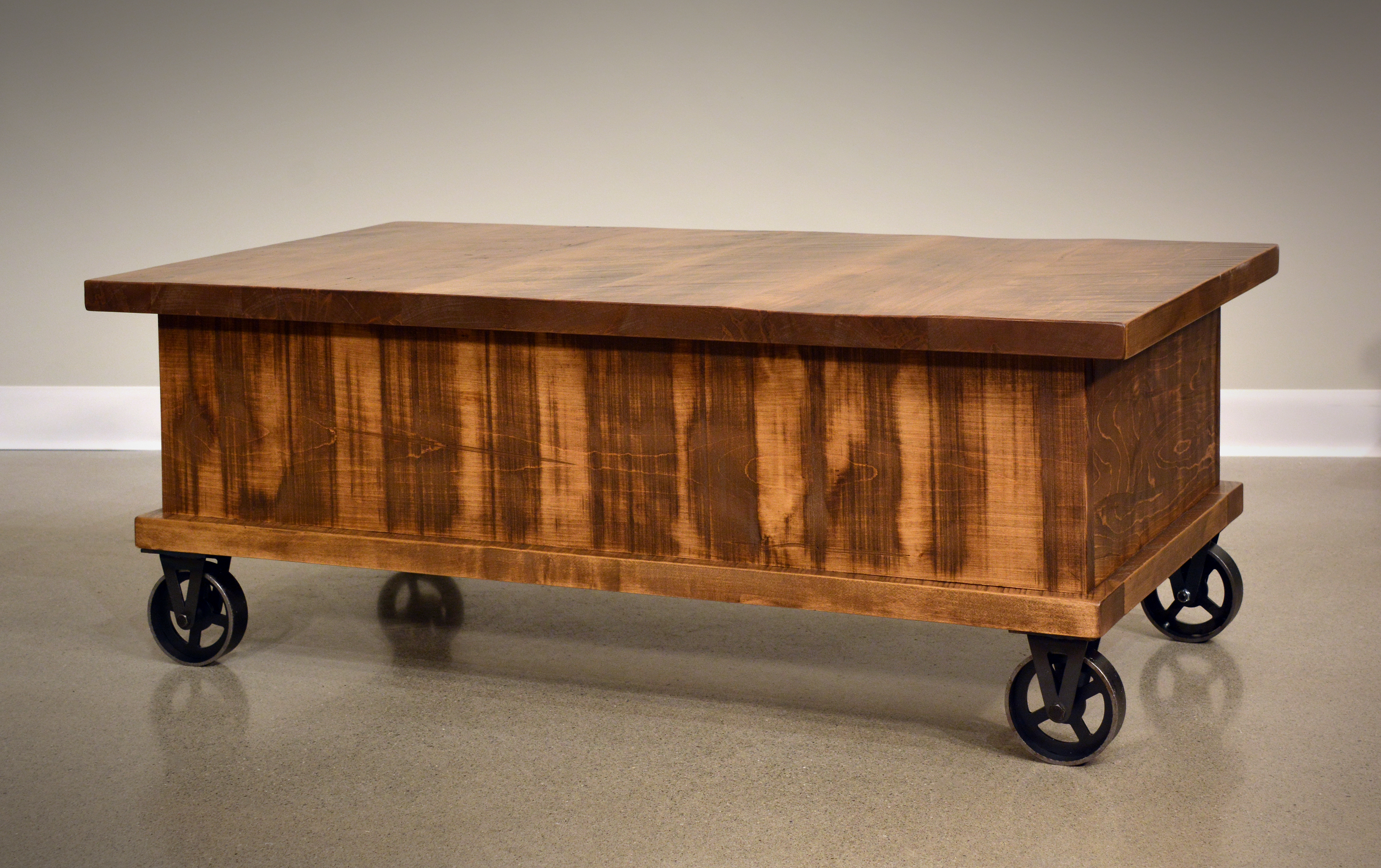 Steampunk Coffee Table – Amish Oak Warehouse